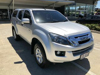 2016 Isuzu D-MAX MY15.5 LS-M Crew Cab Silver 5 Speed Manual Utility.