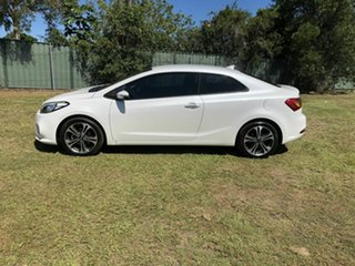 2014 Kia Cerato YD MY14 Koup SI White 6 Speed Sports Automatic Coupe