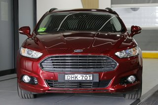 2016 Ford Mondeo MD Trend Red 6 Speed Sports Automatic Dual Clutch Wagon