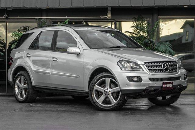 Used Mercedes-Benz M-Class W164 MY08 ML350 Bowen Hills, 2008 Mercedes-Benz M-Class W164 MY08 ML350 Silver 7 Speed Sports Automatic Wagon