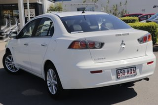 2015 Mitsubishi Lancer CJ MY15 LS White Solid 6 Speed Constant Variable Sedan.