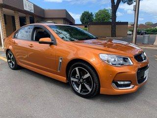 2017 Holden Commodore VF II MY17 SV6 Orange 6 Speed Automatic Sedan.