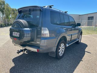 2009 Mitsubishi Pajero NT Exceed LWB (4x4) Grey 5 Speed Auto Sports Mode Wagon.