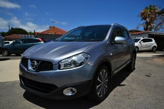 2011 Nissan Dualis J10 Series II TI (4x4) Silver 6 Speed Manual Wagon.