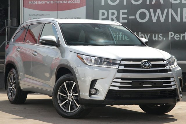 Pre-Owned Toyota Kluger GSU50R GXL 2WD Guildford, 2019 Toyota Kluger GSU50R GXL 2WD Silver 8 Speed Automatic Wagon