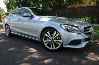 2017 Mercedes-Benz C-Class W205 808MY C200 9G-Tronic 9 Speed Sports Automatic Sedan.