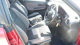2007 Subaru Impreza S MY07 R AWD Red 4 Speed Automatic Sedan