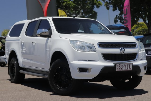 Used Holden Colorado RG MY15 LTZ Crew Cab Windsor, 2014 Holden Colorado RG MY15 LTZ Crew Cab White 6 Speed Sports Automatic Utility