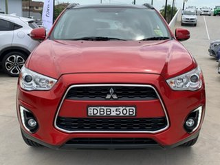 2015 Mitsubishi ASX XB MY15.5 XLS Red 6 Speed Sports Automatic Wagon