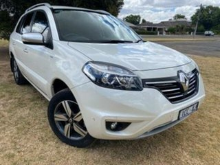 2014 Renault Koleos H45 Phase III Bose SE (4x2) White Continuous Variable Wagon.