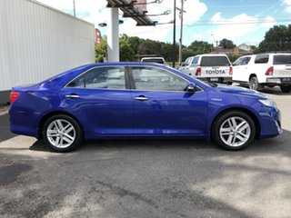 2012 Toyota Camry AVV50R Hybrid HL Blue 1 Speed Constant Variable Sedan Hybrid.