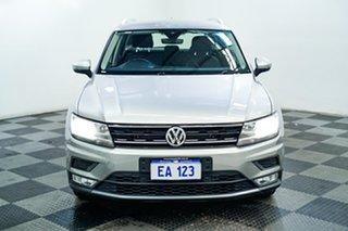 2016 Volkswagen Tiguan 5N MY17 110TSI DSG 2WD Comfortline Silver 6 Speed.
