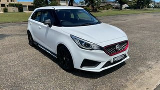 2019 MG MG3 SZP1 MY20 Core Dover White 4 Speed Automatic Hatchback.
