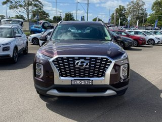 2020 Hyundai Palisade LX2.V1 MY21 2WD Sierra Burgundy 8 Speed Sports Automatic Wagon.