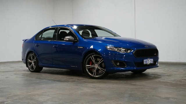Used Ford Falcon FG X XR8 Welshpool, 2015 Ford Falcon FG X XR8 Blue 6 Speed Sports Automatic Sedan