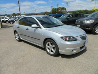 2005 Mazda 3 BK Neo Silver 5 Speed Manual Sedan.