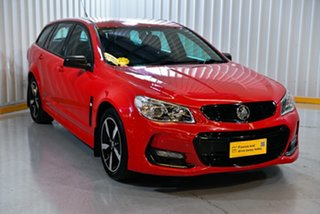 2016 Holden Commodore Vfii MY16 SV6 Black 20Inch Edition Red/Black 6 Speed Automatic Sportswagon