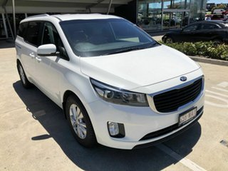 2015 Kia Carnival YP MY16 SI White 6 Speed Sports Automatic Wagon.