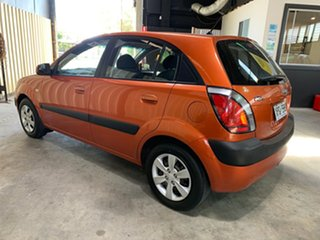 2007 Kia Rio JB EX Orange 5 Speed Manual Hatchback