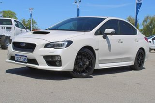 2017 Subaru WRX V1 MY18 Premium AWD White 6 Speed Manual Sedan.