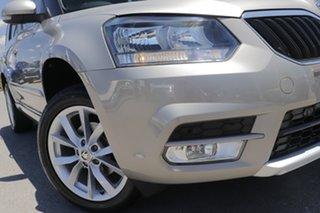 2015 Skoda Yeti 5L MY16 81TSI DSG Active Cappuccino 7 Speed Sports Automatic Dual Clutch Wagon.