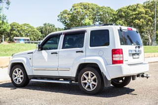 2011 Jeep Cherokee KK MY11 Limited White 4 Speed Automatic Wagon