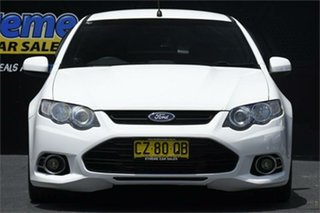 2012 Ford Falcon FG MkII XR6 Ute Super Cab Turbo White 6 Speed Sports Automatic Utility.