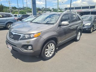 2010 Kia Sorento XM MY11 Platinum Grey 6 Speed Sports Automatic Wagon.