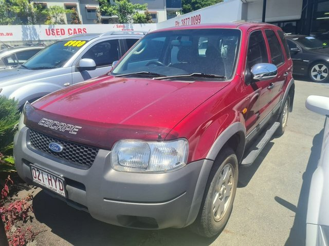 Used Ford Escape ZB XLT Mount Gravatt, 2004 Ford Escape ZB XLT Red 4 Speed Automatic SUV