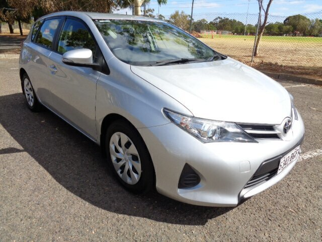 Used Toyota Corolla ZRE182R Ascent S-CVT Elizabeth, 2015 Toyota Corolla ZRE182R Ascent S-CVT Silver 7 Speed Constant Variable Hatchback