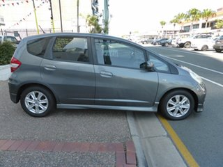 2011 Honda Jazz GE MY12 VTi Grey 5 Speed Automatic Hatchback.