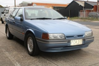 1993 Ford Fairmont EBII Sky Blue 4 Speed Automatic Sedan.