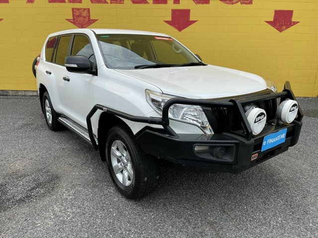 Used Toyota Landcruiser Prado KDJ150R MY14 GX Winnellie, 2014 Toyota Landcruiser Prado KDJ150R MY14 GX White 6 Speed Manual Wagon