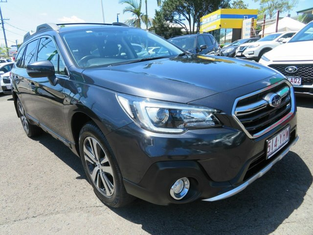 Used Subaru Outback B6A MY18 2.5i CVT AWD Mount Gravatt, 2018 Subaru Outback B6A MY18 2.5i CVT AWD Grey 7 Speed Constant Variable Wagon