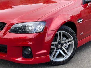 2011 Holden Commodore VE II SV6 Red 6 Speed Sports Automatic Sedan