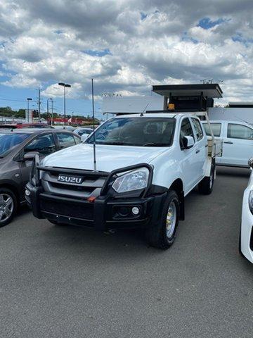 Used Isuzu D-MAX MY17 LS-U Crew Cab Mount Gravatt, 2018 Isuzu D-MAX MY17 LS-U Crew Cab White 6 Speed Sports Automatic Utility