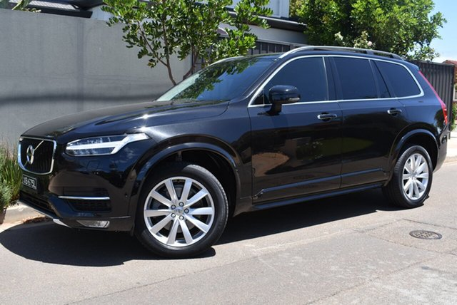 Used Volvo XC90 L Series MY16 D5 Geartronic AWD Momentum Brighton, 2015 Volvo XC90 L Series MY16 D5 Geartronic AWD Momentum Black 8 Speed Sports Automatic Wagon