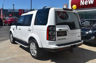 2016 Land Rover Discovery Series 4 L319 MY16.5 HSE Fuji White 8 Speed Sports Automatic Wagon