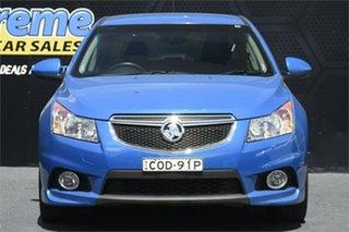 2013 Holden Cruze JH Series II MY14 SRi-V Blue 6 Speed Sports Automatic Sedan.