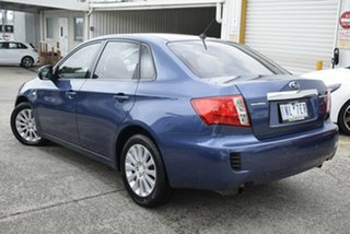 2011 Subaru Impreza G3 MY11 R AWD Blue 4 Speed Sports Automatic Sedan