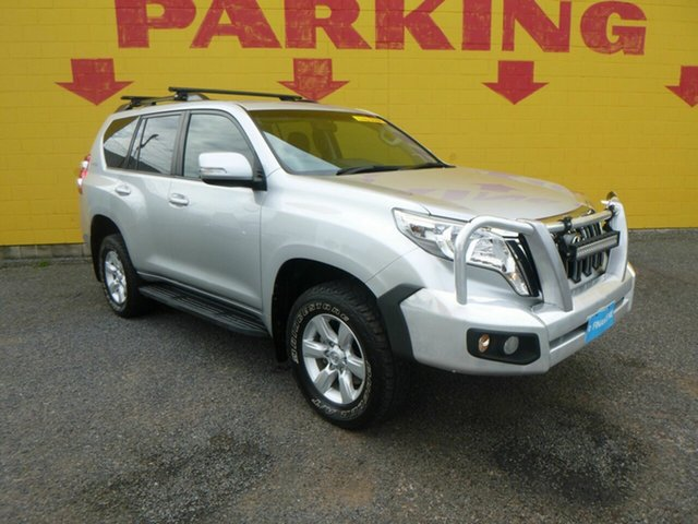 Used Toyota Landcruiser Prado GDJ150R GXL Winnellie, 2015 Toyota Landcruiser Prado GDJ150R GXL Silver 6 Speed Sports Automatic Wagon