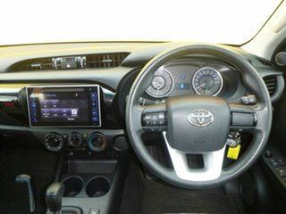2016 Toyota Hilux GUN136R SR Double Cab 4x2 Hi-Rider Red 6 Speed Sports Automatic Utility