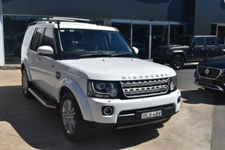 2016 Land Rover Discovery Series 4 L319 MY16.5 HSE Fuji White 8 Speed Sports Automatic Wagon.