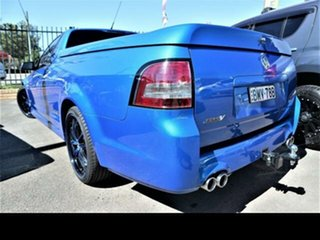 2009 Holden Commodore VE MY09.5 SS-V Blue 6 Speed Automatic Utility.