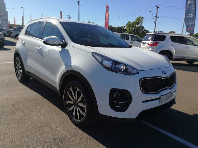 Used Kia Sportage QL MY18 SLi 2WD Cardiff, 2018 Kia Sportage QL MY18 SLi 2WD White 6 Speed Sports Automatic Wagon