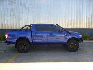 2014 Ford Ranger PX XLS Blue Manual Utility.