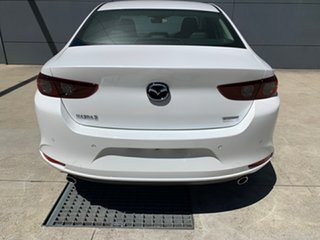 2020 Mazda 3 BP2S7A G20 SKYACTIV-Drive Touring Snowflake White 6 Speed Sports Automatic Sedan