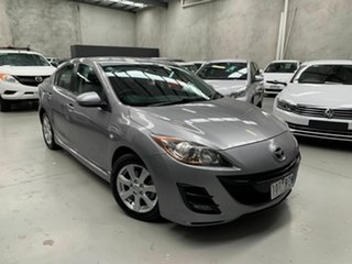 2009 Mazda 3 BK10F2 MY08 Maxx Sport Silver 5 Speed Manual Sedan.