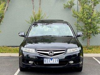 2006 Honda Accord Euro CL MY2006 Luxury Black 5 Speed Automatic Sedan.