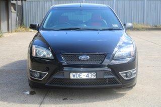 2007 Ford Focus LT XR5 Turbo Black 6 Speed Manual Hatchback.